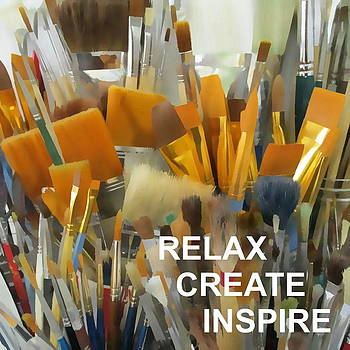 Relax Create Inspire by Catherine Howley