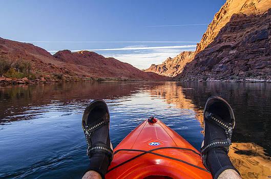 Wayne  Johnson - Relaxing on the Colorado