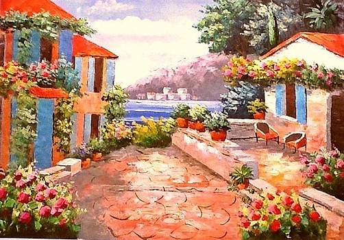 Relaxing Summer Noon by Preeti  Thaker Arora