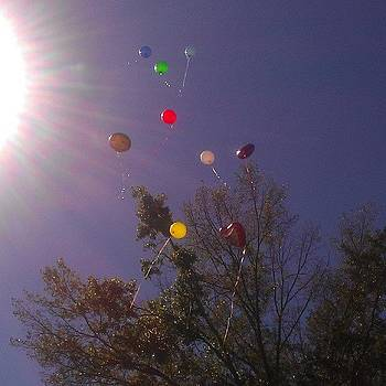 Release #balloons #sky #beautiful by Haley BCU