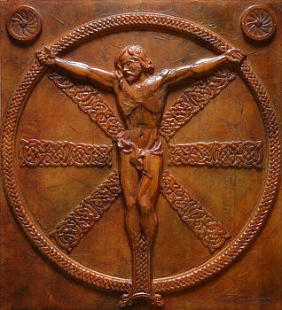 Relic - A Celtic Crucifixion by Jeremiah Welsh