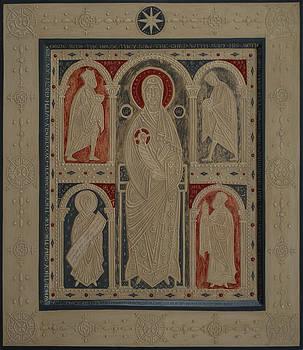 Olga  Shalamova - Relief Icon The Nativity Of Christ the Veneration Of The Magi