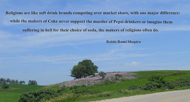 Religion vs. Soft Drink Brands by Coleen Harty