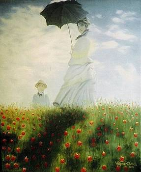 Remade - Camile Monet and her son by Wagner Chaves