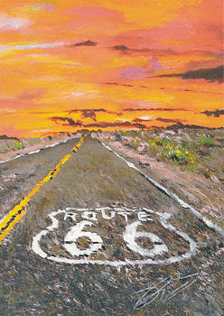 Remember the Time Route 66 by Richard Booker