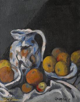 Remembering Cezanne by Joyce Snyder