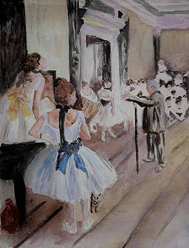 Donna Walsh - Dance Class by Degas