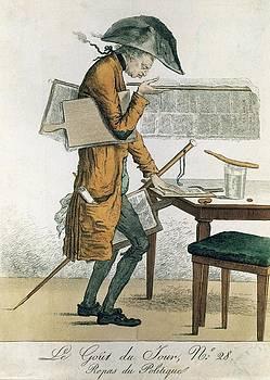 Repas Of Politique, Caricature by Everett