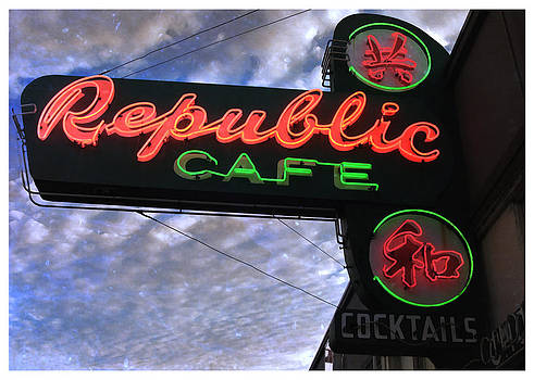 Republic Cafe by Gail Lawnicki