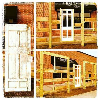#repurposed Door As Window For Outdoor by Mike Piotrowski