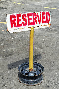 Reserved Signpost by William Voon