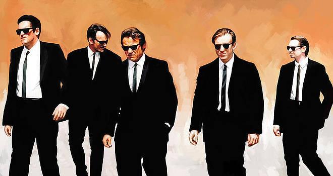 Reservoir Dogs Movie Artwork 1 by Sheraz A