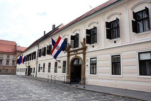 Residence of Government of Croatia  by Borislav Marinic