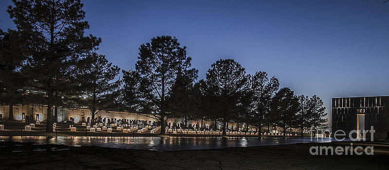 Oklahoma City Memorial by Margaret Guest