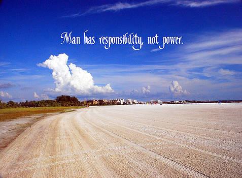 Gary Wonning - Responsibility