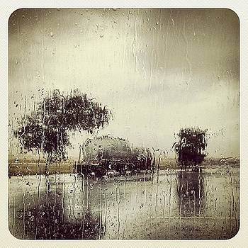 Rest Stop In The #rain #nm #newmexico by Greta Olivas