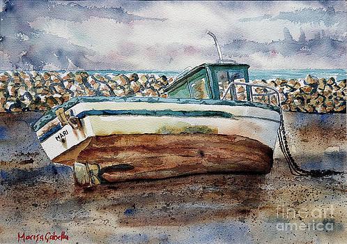 Resting Boat by Marisa Gabetta