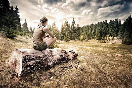 Resting in nature by Nermin Smajic