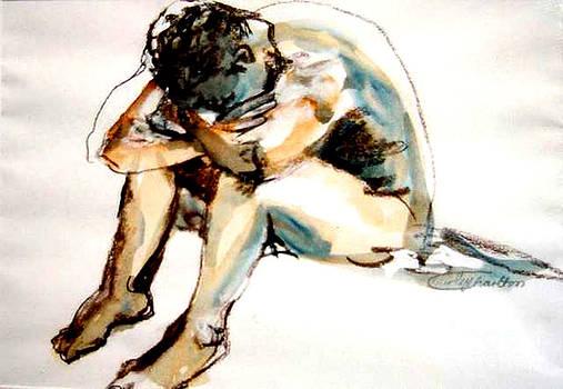 Resting Model by Shirley Roma Charlton