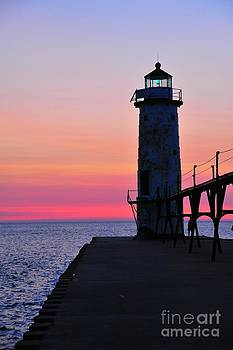 Terri Gostola - Manistee Lighthouse