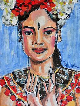 Restu - Balinese Dancer by Khairzul MG