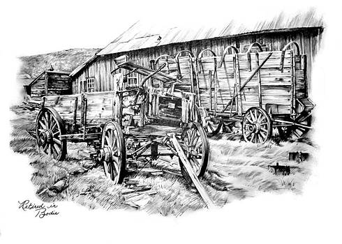 Retired in Bodie by Jonni Hill
