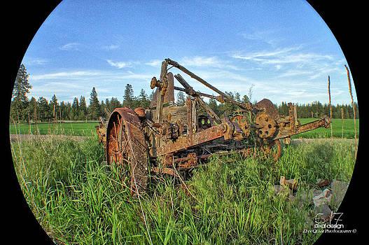 Retired in the field by Dan Quam