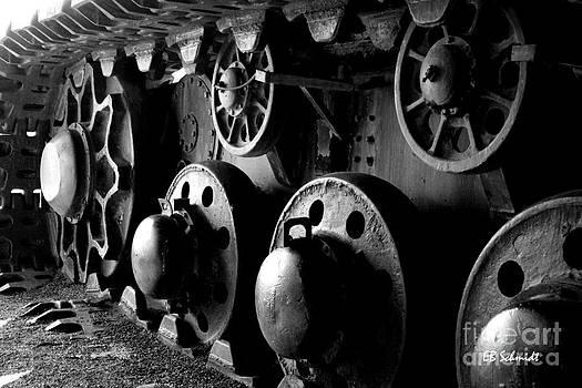 Retired Machines 13 - Crawler Track by E B Schmidt