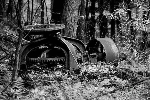 Retired Machines 15 - Lost in the Woods by E B Schmidt