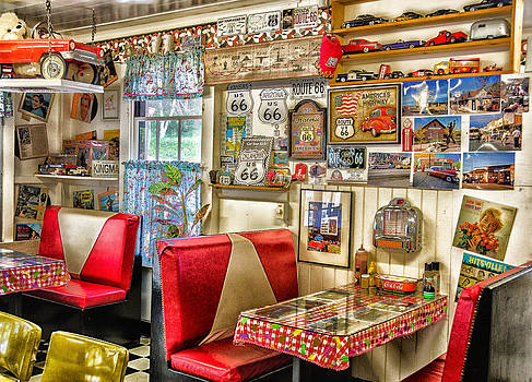 Retro 50's Diner by Georgette Grossman