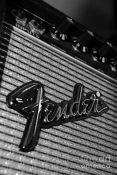 Retro Fender amp by Joe Bull