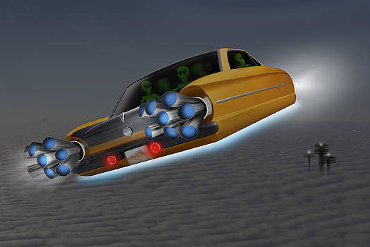Mike McGlothlen - Retro Flying Object 1