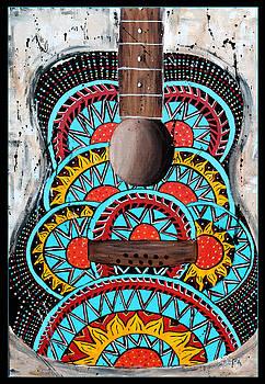 Retro Guitar by Tara Richelle