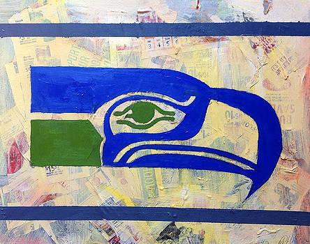 Retro Hawk by Aaron Hazel