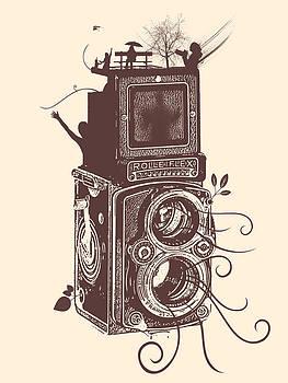 Retro Rolleiflex - Evolution of Photography by Denis Marsili