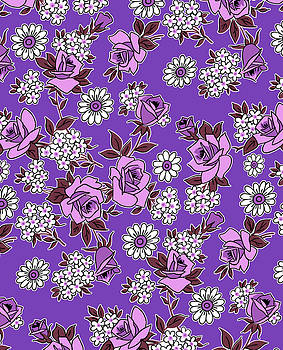 Nancy Lorene - RETRO ROSES in Passion For Purple
