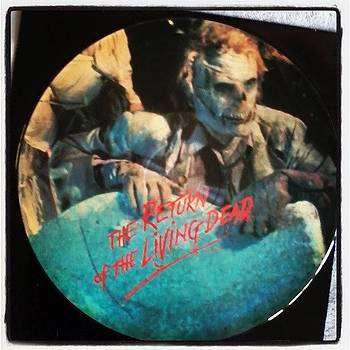 Return Of The Living Dead Vinyl by Ashley Fontenot