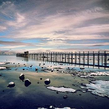 Return Of Winter #laketahoe #tahoecity by HK Moore