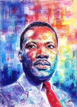 Rev. Dr. Martin Luther King Jr. by Raymond L Warfield jr
