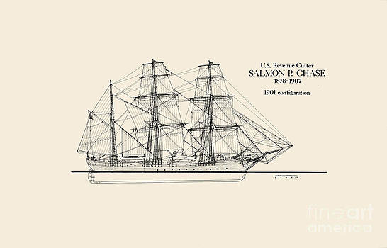 Jerry McElroy - Public Domain Image - Revenue Cutter Salmon P. Chase