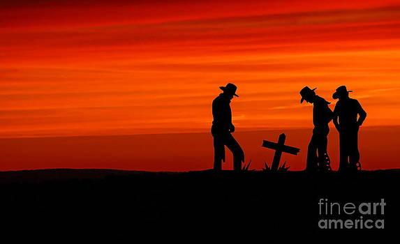 Cowboy Reverence by Andrea Kollo