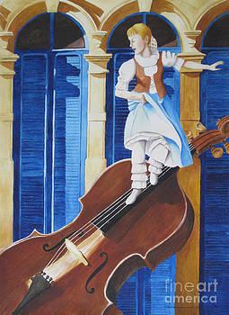 Rhapsody in Blue by Parrish Hirasaki