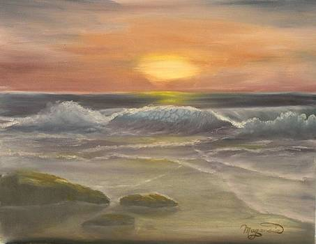 Rhapsody of Waves by Lou Magoncia