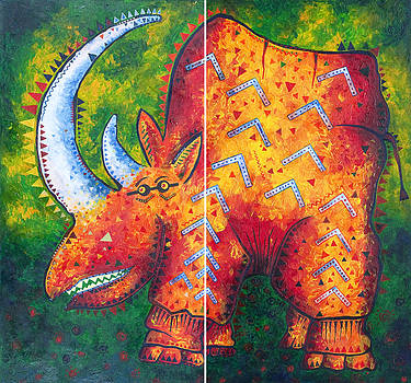 Rhino by Gunther Stammer
