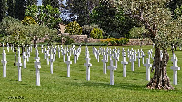Allen Sheffield - Rhone American Cemetery