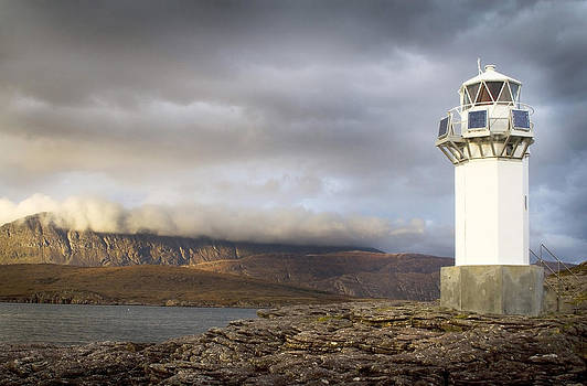 Rhue Lighthouse by Bob Falconer