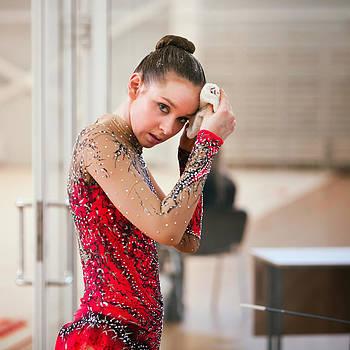 Rhythmic gymnastics by Evgeny Matveev