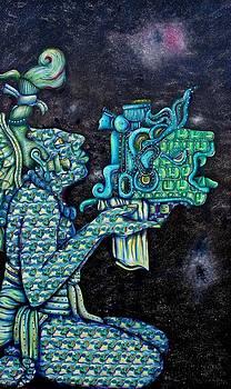 rhythms FROM COSMIC SKY - by Heriberto  Luna