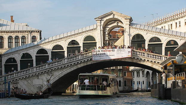 Rialto Bridge Venice  by Suzy  Godefroy