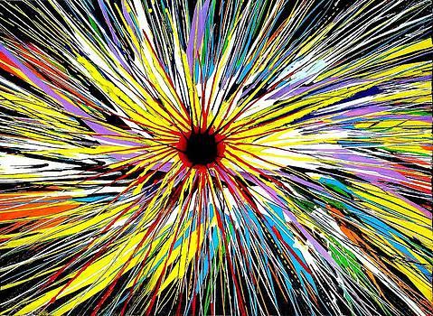 Rianbow Eye by Syma Art